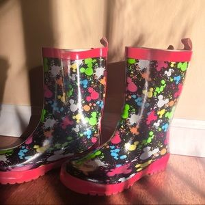 Kids Disney Rainboots